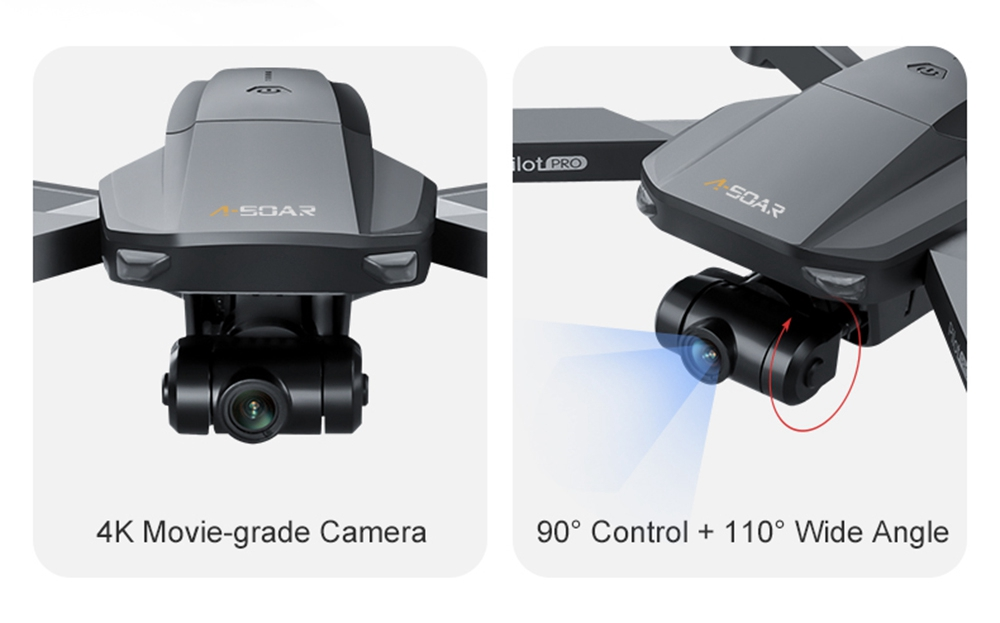 JJRC X19 4K 5G WIFI FPV GPS with Dual Camera 2-Axis EIS Gimbal 25mins Flight Time Brushless RC Drone RTF - Two Batteries
