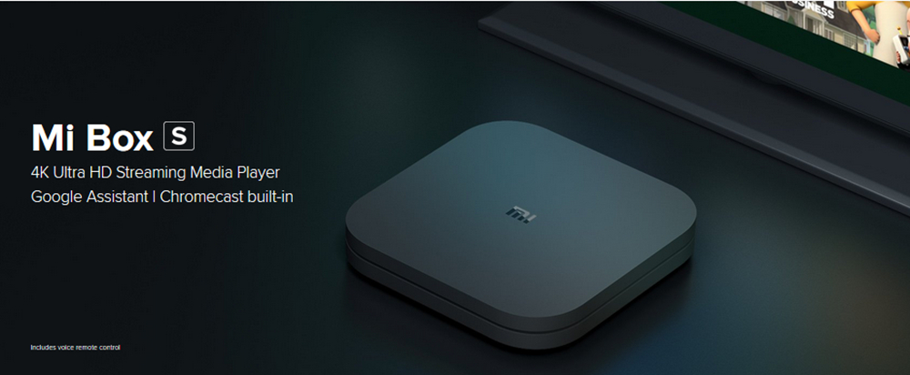 [HK Stock] XIAOMI Mi Box S Android TV 8.1 2GB/8GB 4K TV BOX with Voice Remote Dolby DTS Chromecast AC Wifi Bluetooth Certified-Official International Version