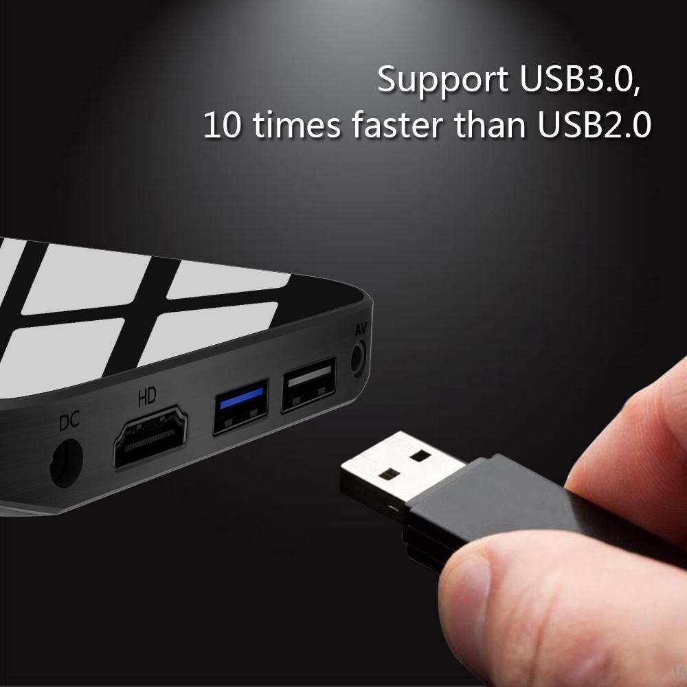 A95X PLUS Amlogic S905Y2 Android 8.1KODI 18.0 4GB/32GB 4K TV Box Dual Band WiFi Bluetooth HDMI USB3.0