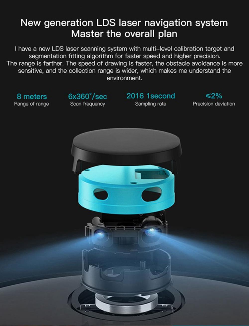 Xiaomi Viomi V2 Pro Robot Vacuum Cleaner With Fast Eu Shipping